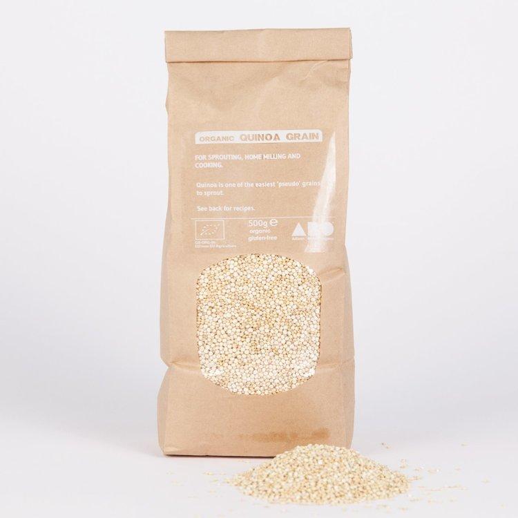 3 x Organic Golden Bolivian Quinoa Grain 500g