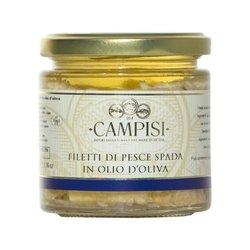 Swordfish Fillets in Olive Oil 220g