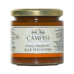 Pachino Cherry Tomato Pasta Sauce with Seafood IGP Inc. Anchovies, Octopus & Squid 220g