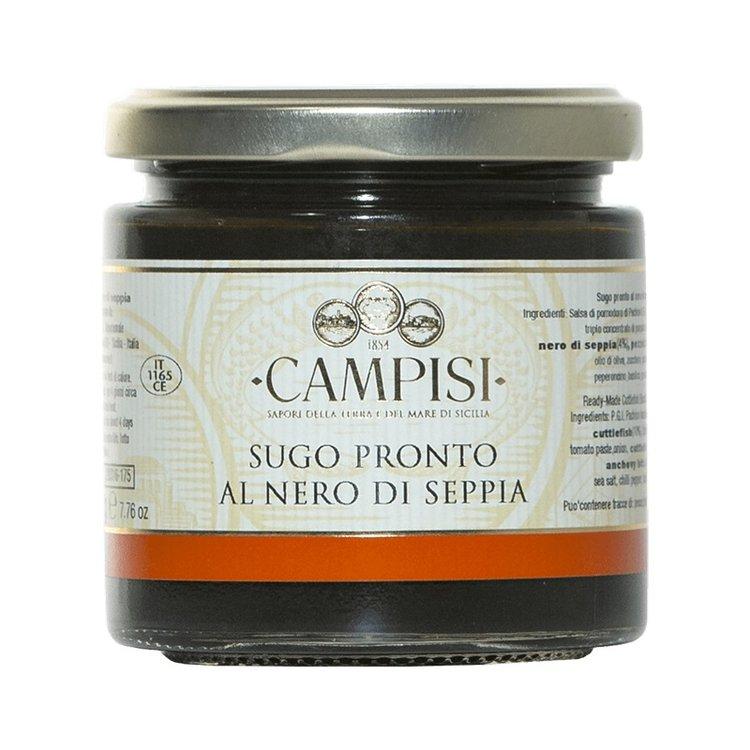 Pachino Cherry Tomato & Squid Ink Pasta Sauce IGP 220g
