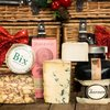 'The Cheese Lovers' British Cheese Set Inc. Charcoal Cheddar, Irish Porter & Sussex Charmer Cheeses