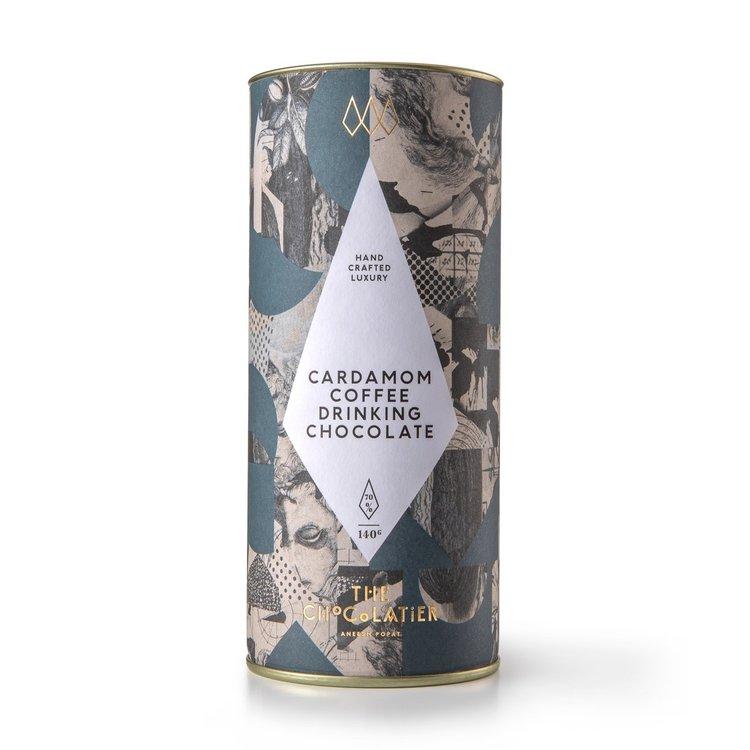 Cardamom & Coffee Chocolate Drink Powder 140g (Vegan)