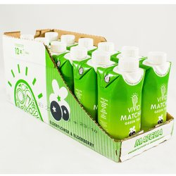 12 Elderflower & Elderberry Ready To Drink Matcha Green Tea (12 x 330ml)