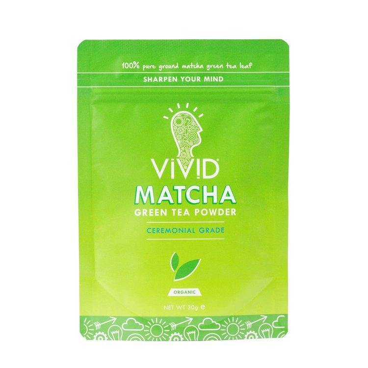 Case of 6 x 30g Ceremonial Grade Organic Matcha Green Tea Powder Pouches