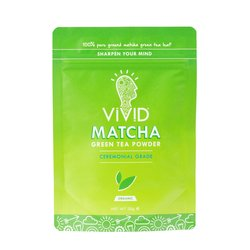 Case of 6 x 30g Ceremonial Grade Organic Matcha Green Tea Powder Pouches