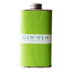 Apricot, Elderflower & Orris Root 'No. 9' Gin In A Tin 50cl