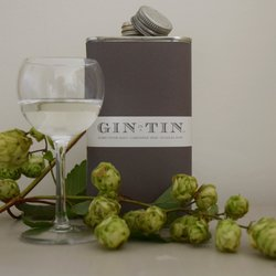 Fuggle Hops, Coriander Seed & Maris Otter Malt 'No. 11' Gin In A Tin 50cl