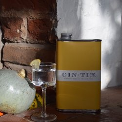 Pumpkin, Orange Peel & Nutmeg 'No. 12' Gin In A Tin 50cl