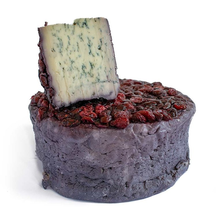 200g 'Blu61' Soft Blue Cheese with Red Wine & Cranberries