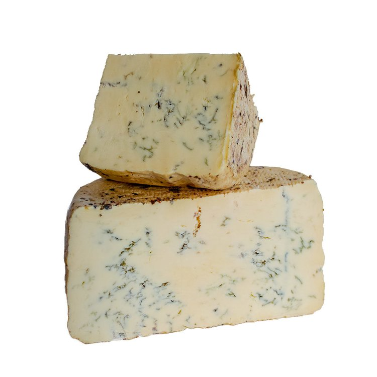 200g 'Blugin' Gin Aged Soft Blue Cheese