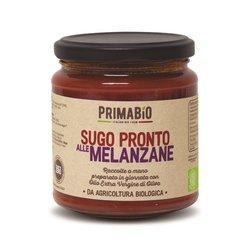 2 x Organic Italian 'Delfo' Tomato Pasta Sauce with Aubergines (2 x 314ml)