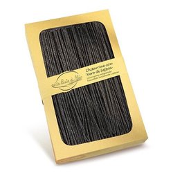 Dried Egg Black Chitarrine Pasta with Cuttlefish Ink 250g