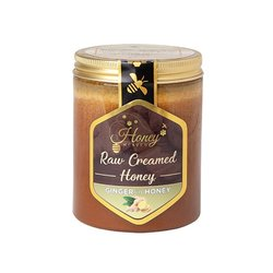 Ginger in Raw Creamed Hungarian Honey 400g