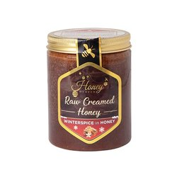 Raw Creamed Winterspice Hungarian Honey with Cinnamon, Ginger & Vanilla 400g
