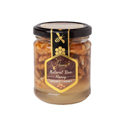 Walnuts in Raw Creamed Hungarian Acacia Honey 400g