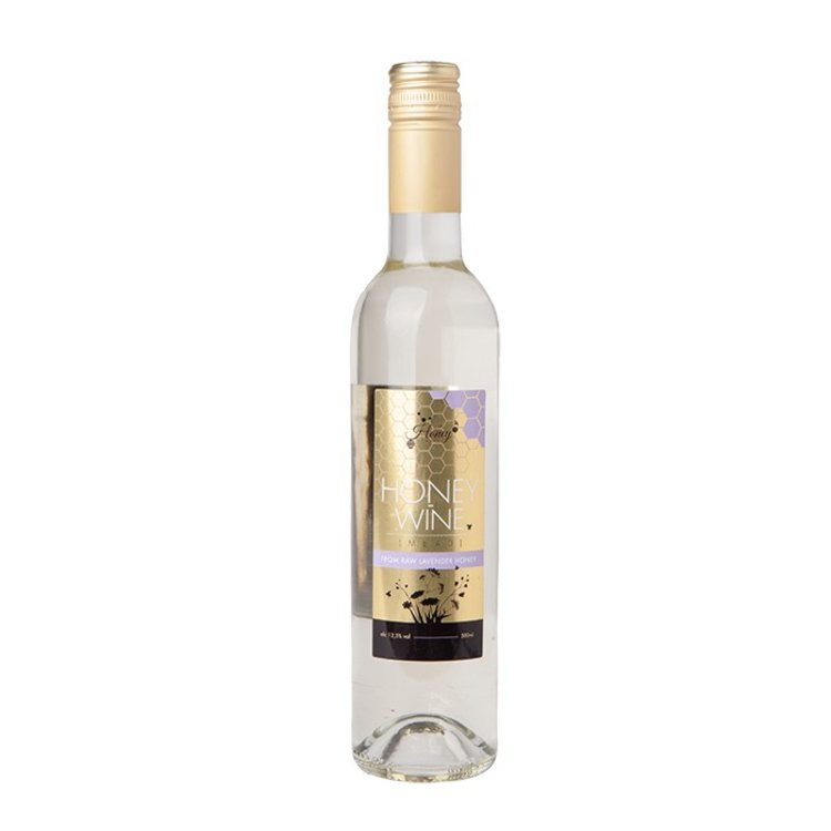 Lavender Honey Wine Mead with Raw Hungarian Honey 500ml