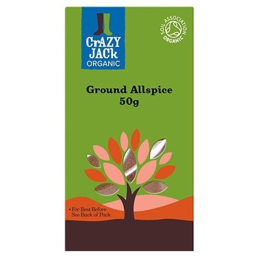 Organic Ground Allspice 50g