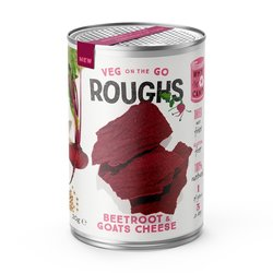 12 Beetroot & Goat's Cheese Crispy Vegetable 'Roughs' Snack Tins (12 x 20g)