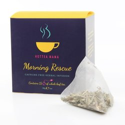 'Morning Rescue' Pregnancy Tea - Caffeine-Free Herbal Infusion 15 Whole Leaf Tea Bags