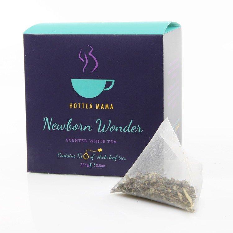 'Newborn Wonder' Scented White Tea 15 Whole Leaf Tea Bags