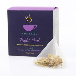 'Night Owl' Caffeine-Free Herbal Infusion Tea 15 Whole Leaf Tea Bags