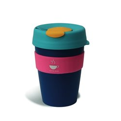 Reusable Keep Cup Tea & Coffee Mug with Band 360ml