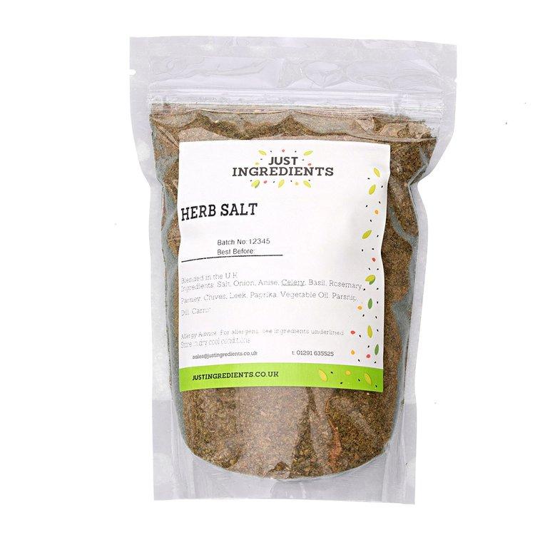 Mixed Herb Sea Salt Inc. Rosemary, Parsley, & Basil 100g