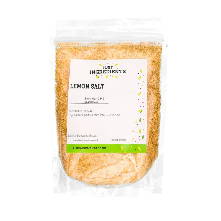 Lemon Sea Salt 100g