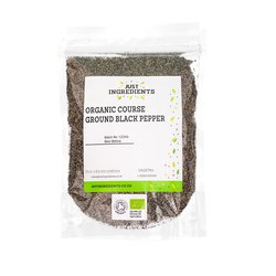 Organic Coarse Ground Black Pepper 100g
