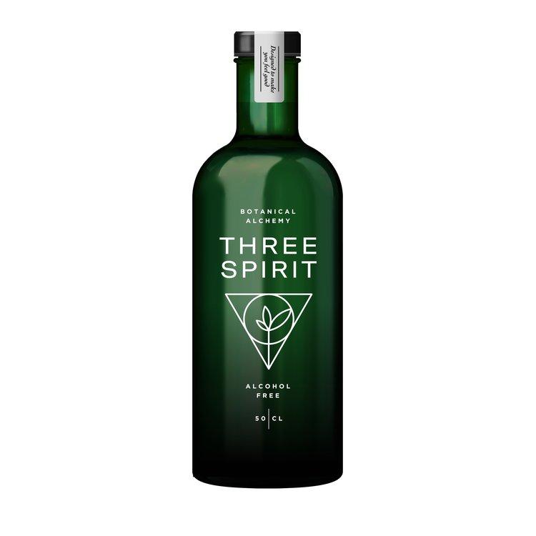 Non-Alcoholic 'Three Spirit' Plant-Based Botanical Spirit 50cl