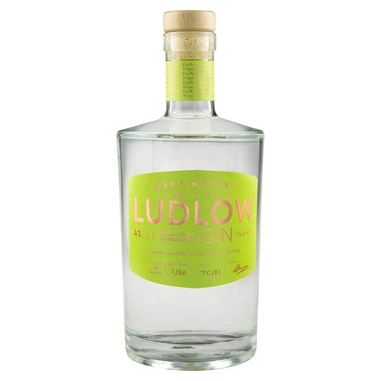 Triple Citrus & Pomegranate Ludlow Gin 70cl