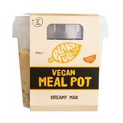 3 Creamy Macaroni Pasta Vegan Ready Meal Pots (3 x 350g)