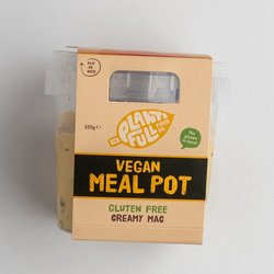 3 Creamy Gluten-Free Macaroni Pasta Vegan Ready Meal Pots (3 x 350g)