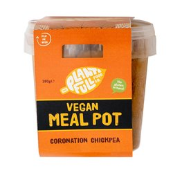 3 Coronation Chickpea '5-A-Day' Vegan Ready Meal Pots (3 x 380g)