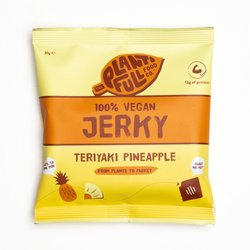 12 Teriyaki Pineapple Vegan Jerky Snack Packs (12 x 30g)