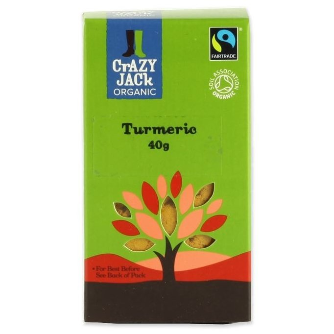 Organic Fairtrade Turmeric 40g