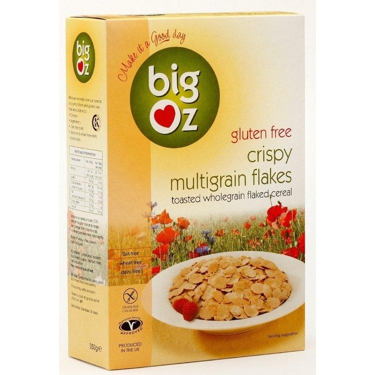 Gluten Free Crispy Multigrain Flakes 350g