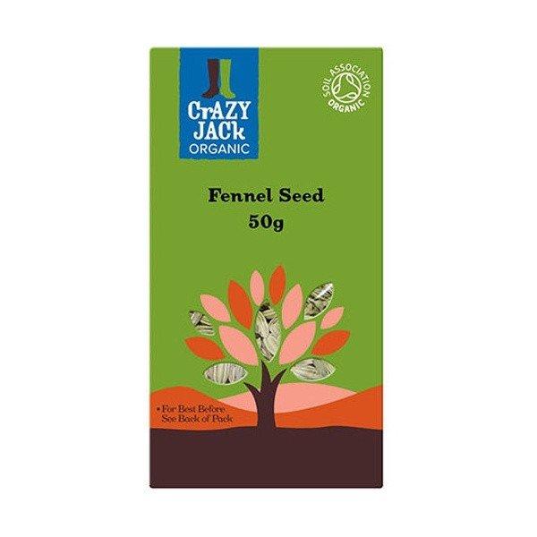 Organic Fennel Seeds 50g