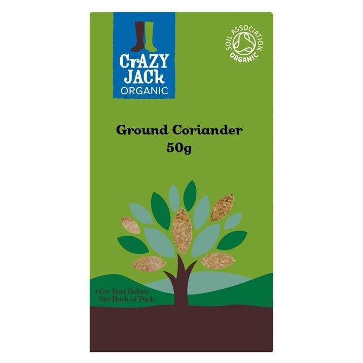 Organic Ground Coriander 50g