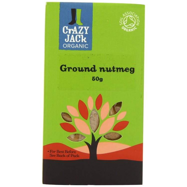 Organic Ground Nutmeg 50g