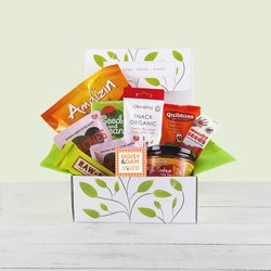 'Chilli Chilli Bang Bang' Snack Hamper Gift Box Inc. Spicy Nuts, Chocolate & Olives
