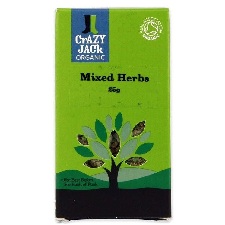 Gluten-Free Organic Mixed Herbs 25g