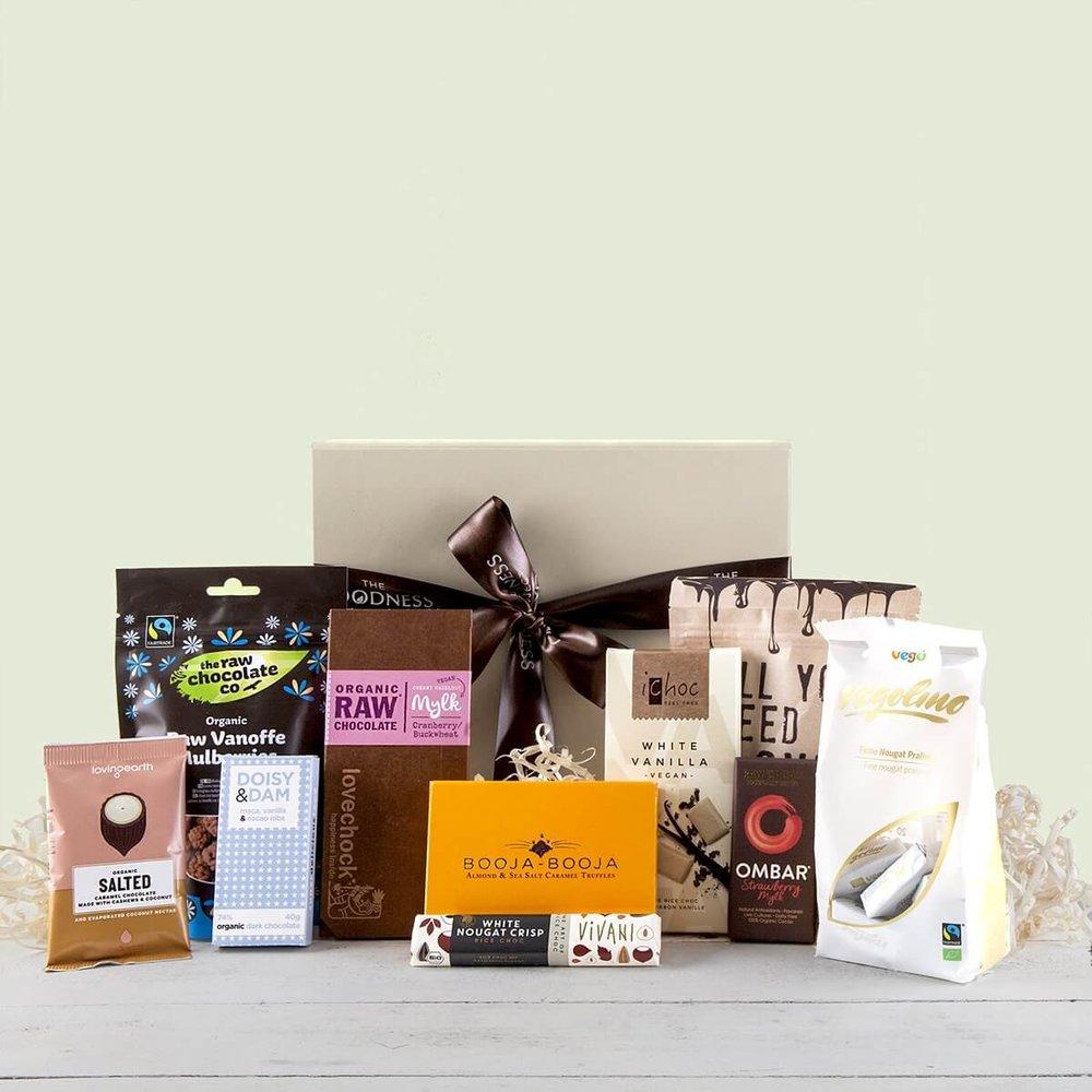 The Ultimate Organic Chocolate Vegan Gift Hamper Inc