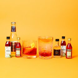 Classic Gin Negroni Cocktail Gift Set