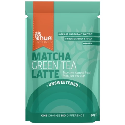 Organic Matcha Green Tea Unsweetened Latte Blend 50g