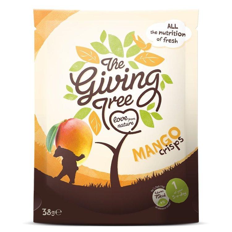 Freeze Dried Mango Crisps 38g