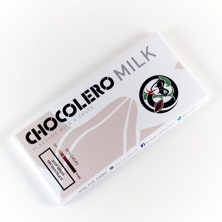 Organic Milk Chocolate Bar 100g