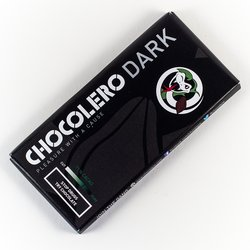 Organic Dark Chocolate Bar 100g