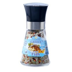 Salt & Pepper Glass Grinder Blend for Fish 40g