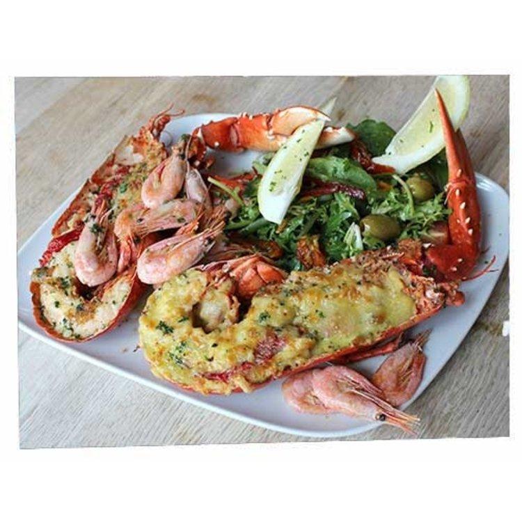 Lobster shellfish hamper